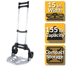 OLYMPIA Pack-N-Roll 150 Lb. Folding Hand Truck With Steel Toe Plate ... Olympia Packnroll 150 Lb Folding Hand Truck With Steel Toe Plate Milwaukee 1000 Capacity Fniture Dolly33700 The Home Depot Lbs Vertical And 300 Horizontal 3500 Convertible Truck30152 Red Trucks Moving Supplies 800 Appliance Truck85038 Buy All About Cars Inspirational Lb D Hand Truck Am Tools Equipment Rental Stair Climbing Dolly Wwwtopsimagescom