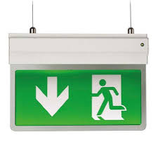surface mount exit signs emergency lighting direct eml direct