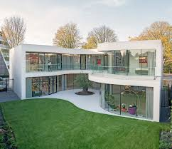 100 Glass Walls For Houses MVRDV Completes Casa Kwantes House With Fluid Glass Walls In Rotterdam