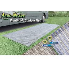 Rv Patio Rug Canada by Aero Weave Breathable Outdoor Mat Seascape 7 5 U0027 X 20 U0027 Prest O
