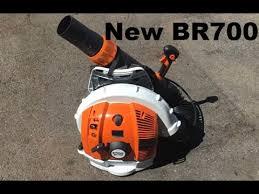 New Stihl BR700 Backpack Leaf Blower