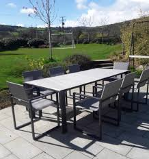 Fermo Dining Table Set With 8 Chairs - Charcoal Brompton Metal Garden Rectangular Set Fniture Compare 56 Bistro Black Wrought Iron Cafe Table And Chairs Pana Outdoors With 2 Pcs Cast Alinium Tulip White Vintage Patio Ding Buy Tables Chairsmetal Gardenfniture Italian Terrace Fniture Archives John Lewis Partners Ala Mesh 6seater And Bronze Home Hartman Outdoor Products Uk Our Pick Of The Best Ideal Royal River Oak 7piece Padded Sling Darwin Metal 6 Seat Garden Ding Set