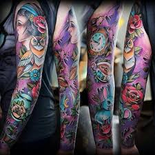Mixed Motives In Color On Full Sleeve