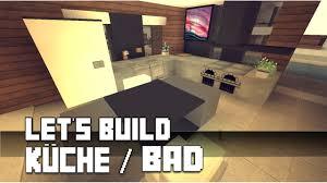 minecraft möbel tutorial moderne küche bad 4 haus