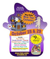 Halloween Activities In Nj by Green Meadows Farm Halloween Fun Weekend Tickets Multiple Dates