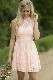 aliexpress com buy modest country western full lace peach short