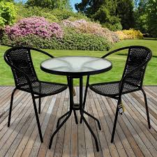 Details About RATTAN 3 PIECE GLASS TABLE SET CAFE BISTRO STACKING CHAIR  GARDEN OUTDOOR BLACK Americana Wicker Bistro Table And Chairs Set Plowhearth Royalcraft Cannes Brown Rattan 3pc 2 Seater Cube Breakfast Ceylon Outdoor 3piece By Christopher Knight Home Hampton Bay Aria 3piece Balcony Patio Sirio Valentine Swivel Ellie 3 Piece Folding Fniture W Round In Dark Outdoor Cast Alinium Rattan Ding Sets Georgina With Cushions Wilko Effect