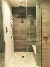 best 25 wood tile shower ideas on rustic pretentious