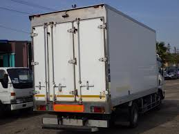 100 Freezer Truck ISUZU Elf 3000kg Truck Japanese Used Vehicles