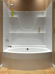 Tiling A Bathtub Alcove by Tub And Shower One Piece