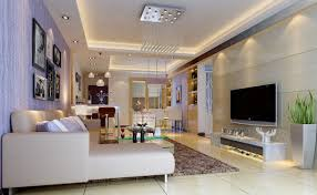 modern living room lighting wall interior 3d design 3d