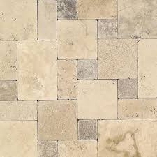 Natural Stone Floor Tile Incredible Daltile Travertine Peruvian Cream Paredon Pattern Within 23