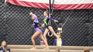 tori usag level 4 beam routine 2016 youtube