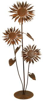 Amazon Patina Products S665 Large Sun Flower Garden Sculpture Wind Sculptures Outdoor