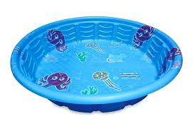 Kids Pool Hard Plastic Big Kiddie Cool Wading Inch