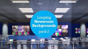 Newsroom Backgrounds Pack 2 Blue