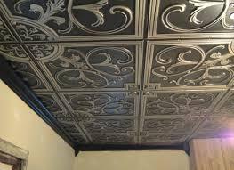 interior faux tin backsplash roll ceiling tiles real tin