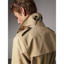 the sandringham u2013 long heritage trench coat in honey men burberry