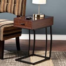 Sofa Snack Table Walmart by Pennock Powered Usb Side Table Walmart Com