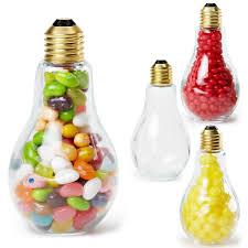 medium light bulb glass jar jelly beans goimprints