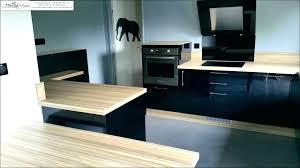 cuisine basse table bois et noir cuisine bois noir cuisine et bois ikea