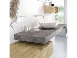 waschtischkonsole 8 cm in betondekor nach maß