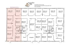 Executive fice Space in Annapolis Maryland  Floor Plan