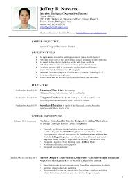 Related For 5 Resume Examples Philippines