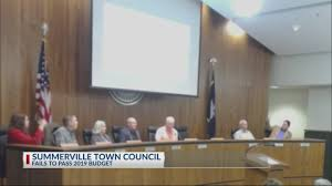 Summerville Town Council Again Fails To Pass 2019 Town Budget