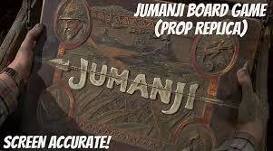 11 Scale Wooden Jumanji Board Game Prop Replica