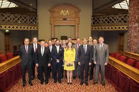 chambre des deputes le héritier reçu à la chambre des députés du grand duché de