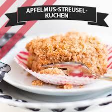 apfelmus streusel kuchen cake