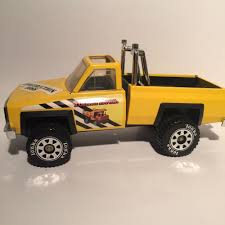 100 Vintage Tonka Truck Construction Boss Pickup Yellow Steel USA