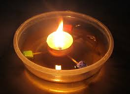 Kerosene Lamp Wicks Melbourne by How To Make A Floating Wick The Cheap Way U2013 2frugal