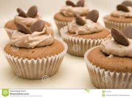 Chocolate Butterfly Cakes In Paper Cases