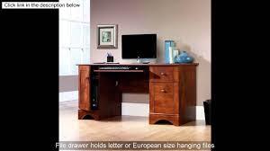 Sauder Camden County Computer Desk by Sauder Computer Desk Brushed Maple Finish Youtube