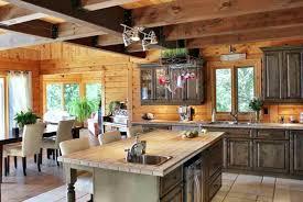 cuisine cagnarde design d intérieur cuisine cagnarde en bois decoration rustique