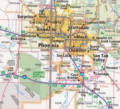 Arizona Easy To Fold Map Rand McNally