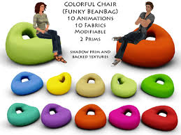 Funky Colorful BeanBag Chair T