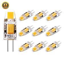 no flicker led g4 bulb 12v 10w halogen replacement dustproof bi