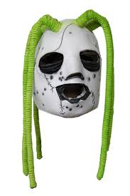 Slipknot Halloween Masks For Sale by Amazon Com Slipknot Corey Taylor Style Iowa Latex Dreadlock Mask