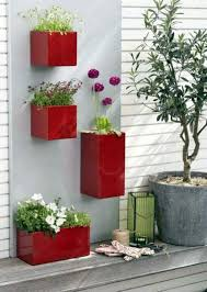 Shiny Boxes With Red Flowers 55 Balcony Greenery Ideas