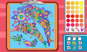 Virtual Mandala Coloring Book Screenshot Thumbnail