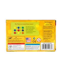 Crayola Bathtub Fingerpaint Soap by Crayola Tempera Paint Set 2oz 6 Pkg Joann