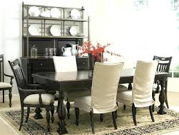 Wingback Chair Covers Black And White Slipcovers Dining Room Also