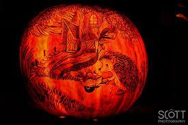 Roger Williams Pumpkin by Porcupine Pumpkin Carving Jack O Lantern Spectacular 2014 Scott