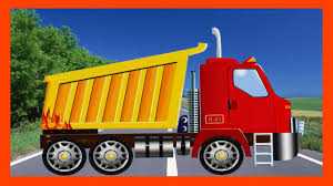 The Dump Truck - Cartoon For Kids | Construction Trucks Video For ...