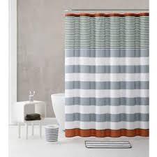 Orange Shower Curtains For Less