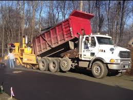 100 Tri Axle Truck DB Hauling LLC Axle Dump Truck Paving New Road In Danbury CT