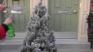 Christmas Tree Flocking Kit by Upside Down Realistic Artificial Christmas Trees U2014 Home Ideas